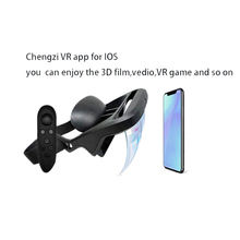 Intelligent Ar Glasses 3D Video Augmented Reality Vr Headphones for 3-D and Games on the Iphone Android(4.5-5.5 Inch S