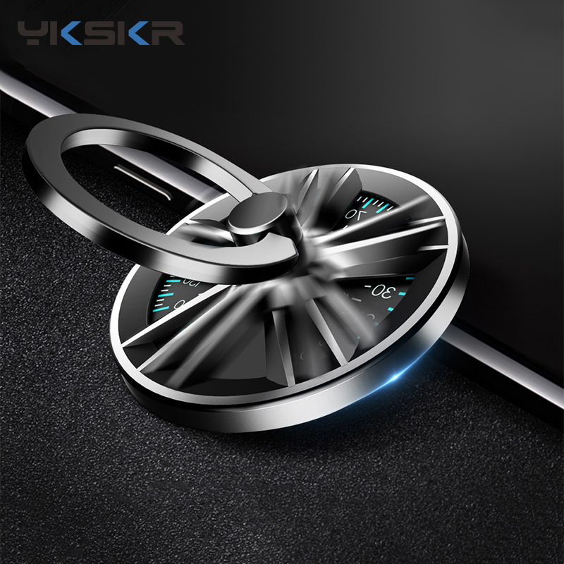 Hand Spinner Finger Ring Holder Metal Fidget Finger Spinner Mobile Phone Holder Stand For IPhone X XS MAX XR Ring Phone Holder
