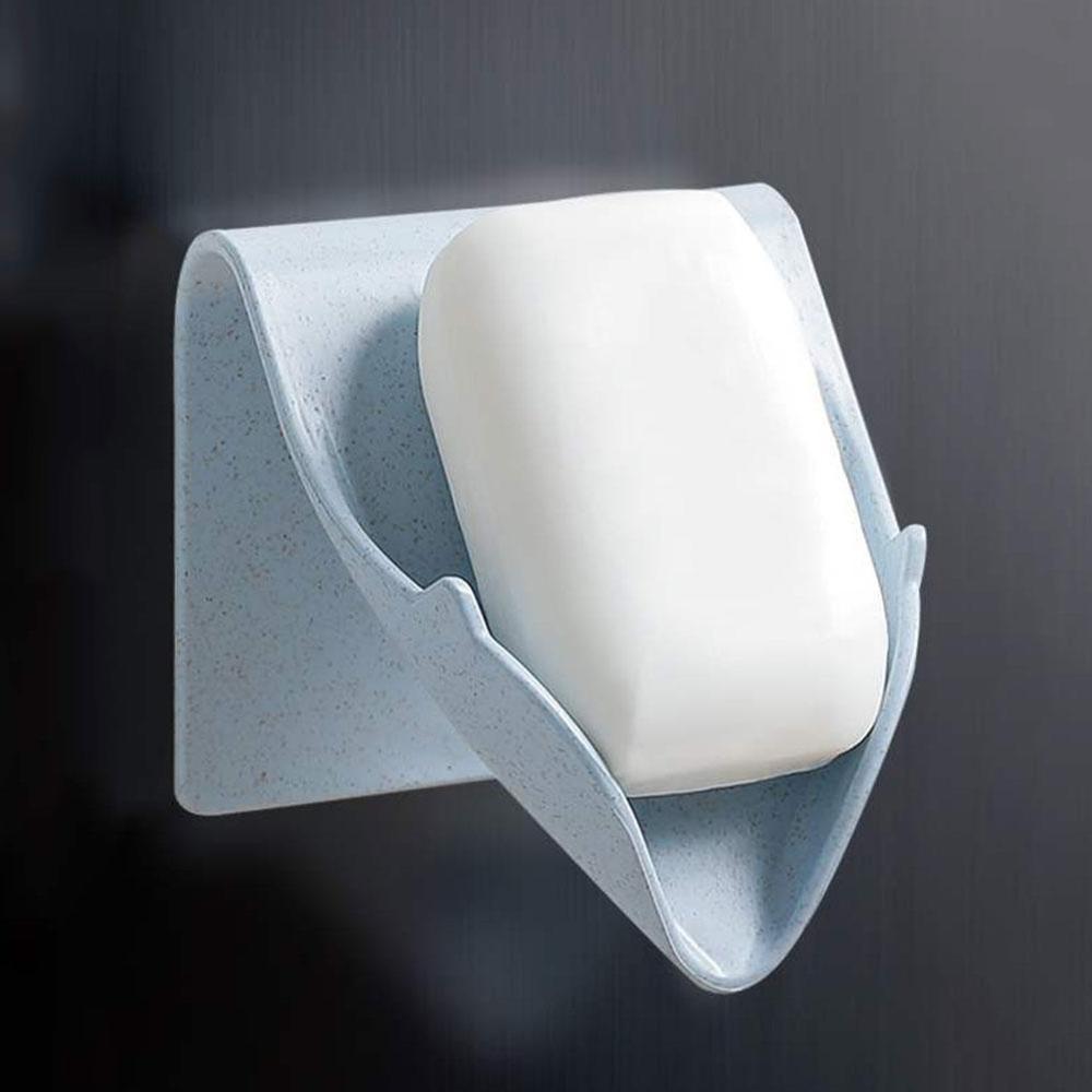 Bathroom Soap Tray Plastic Soap Dish Draining Soap Box Container Storage Holder