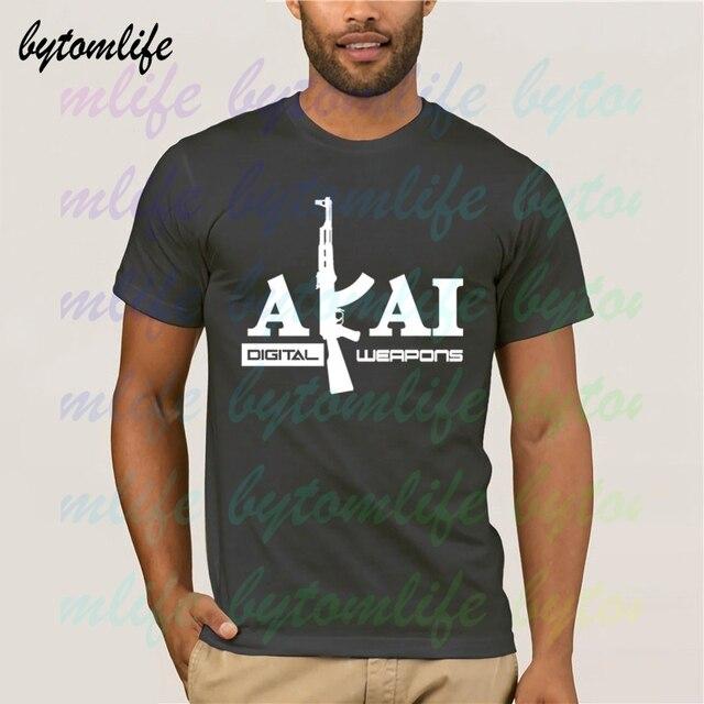 Akai professionnel Dj t-shirt Pioneer techniques S-4xl Serato Vestax pionnier hommes 100% coton manches courtes hauts t-shirt unisexe