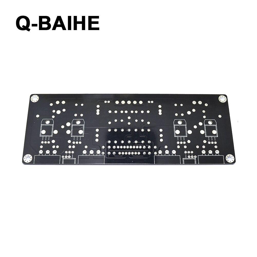 LM4702 2SK1530 2SJ201 Stero Power Amplifier PCB Board 100 100W