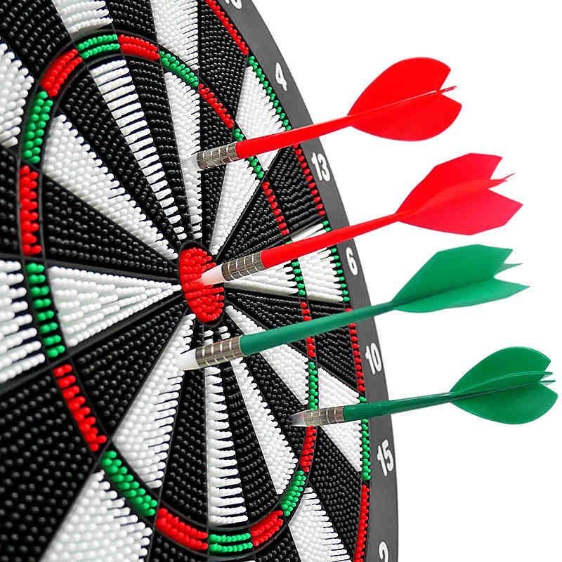 16 Inch 100% Safe Dart Board Best Quality For Match Play With A Set Of Tip Dart Dart Accesoires  Professional Darts Set Gift