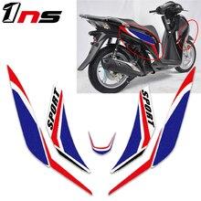 Için honda SH125 SH 125 motosiklet ön vücut su geçirmez çıkartması fairing etiket süper yapışkan kiti korumak dekoratif çıkartmaları