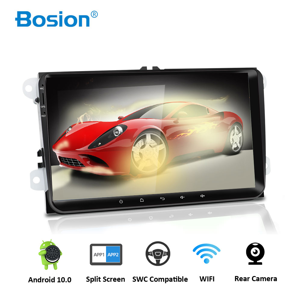 Bosion <font><b>Android</b></font> 10.0 Car Audio Radio for <font><b>volkswagen</b></font> polo PASSAT B7 CC skoda Octavia <font><b>GOLF</b></font> 5 <font><b>Golf</b></font> <font><b>6</b></font> TIGUAN TOURAN steering-wheel image