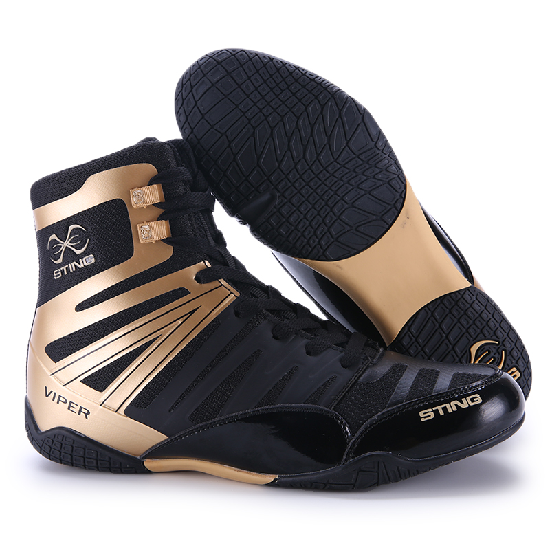 Men's Boxing Wrestling Shoes Luxury Weightlifting Shoes Athletics Air Mesh Fighting Racing Shoes Muscle Bodybuilding Sneakers