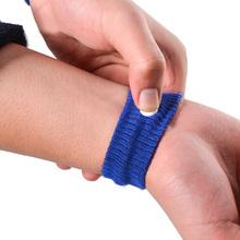Wielokrotnego użytku z bawełny opaska na nadgarstek Anti-nudności podróży samochodem wysłać choroby wysokościowej materiały pierwszej pomocy Anti-motion choroby opaska na nadgarstek cheap Ourpgone Uniwersalny Anti-Nausea Bands nylon