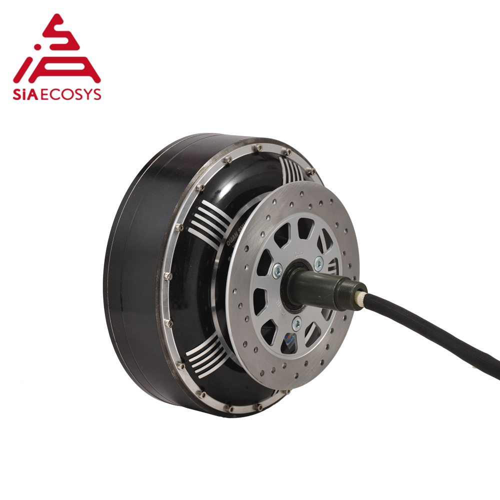 <font><b>QS</b></font> <font><b>Motor</b></font> 8000W <font><b>273</b></font> 50H V3 type 2wd 96V 115KPH BLDC brushless hub <font><b>motor</b></font> single shaft hub <font><b>motor</b></font> for electric car image