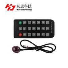 Huidu sensores, temperatura 18B20, Sensor de temperatura y humedad AM2301, Sensor de brillo único/RGB, caja de Sensor, 1R remote