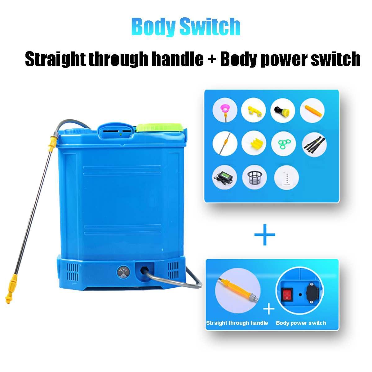Agricultural Pesticide Spray Equipment Backpack Garden Intelligent Sprayer Knapsack 20 Litre 12v 220v Battery Electric ULV Foger-3