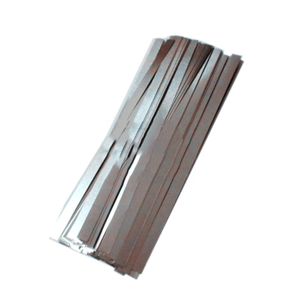0,15 мм x 8 мм x 100 мм 100 шт чистый никелевый лист планки полосы листы 99.96% для аккумуляторная машина для точечной сварки сварочное оборудование|plate iphone|sheet colorsplate oven | АлиЭкспресс