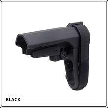 Tactical náilon estoque armas brinquedo acessórios de substituição para m4 estoque hk416 gel bola peças sba3