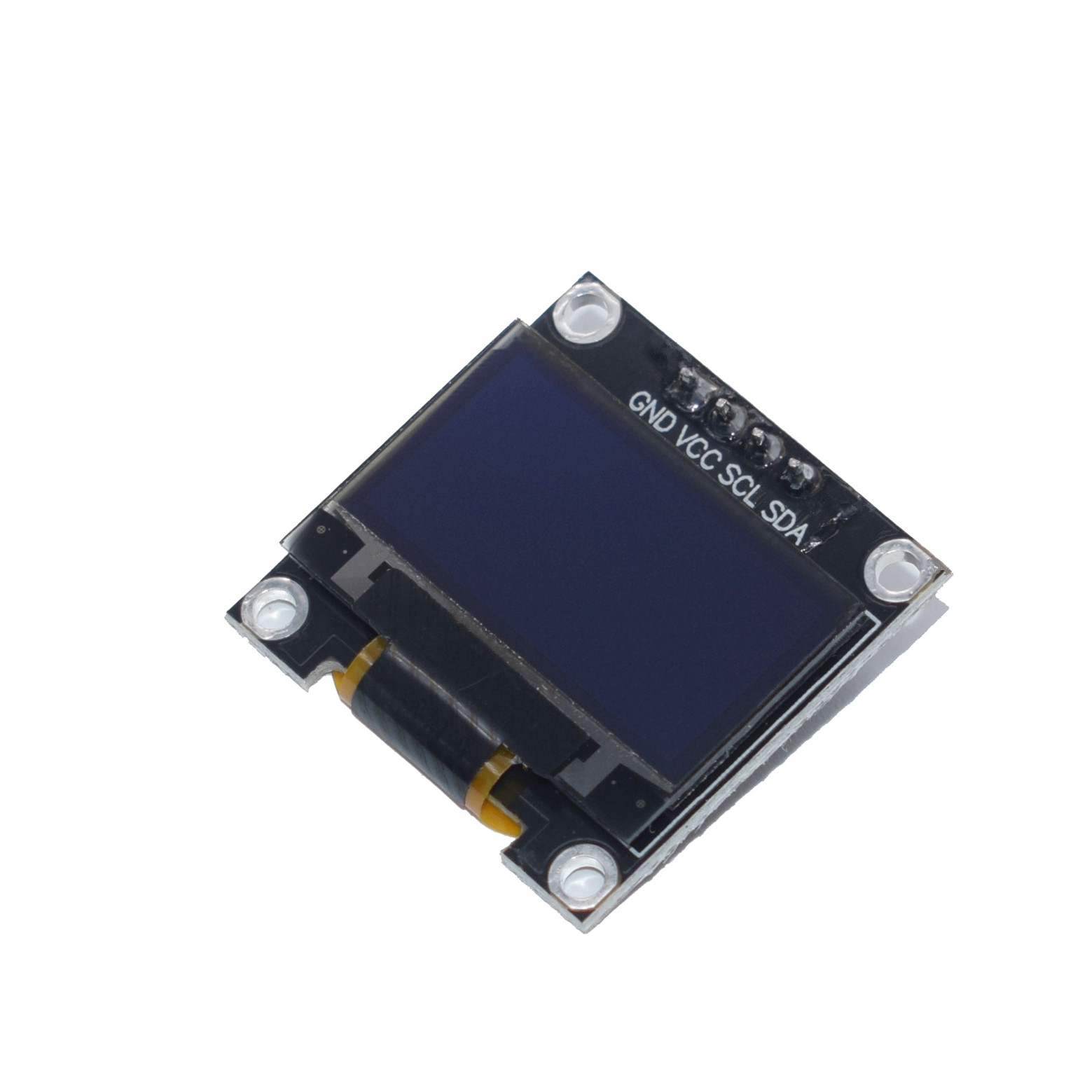 """Image 4 - 100 Pieces White/Yellow Blue/Blue 0.96 OLED 128X64 128*64 OLED LCD LED Display Module For 0.96"""" I2C IIC For Arduino Raspberry PiLCD Modules   -"""