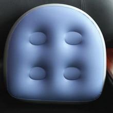 Almofada de pvc massagem spa impulsionador assento almofada conjunto banheira quente almofada inflável com ventosa para casa banho acessório