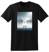 NEW IT CHAPTER 2 T SHIRT movie poster tee pennywise SMALL MEDIUM LARGE or XL printed tee shirt(China)
