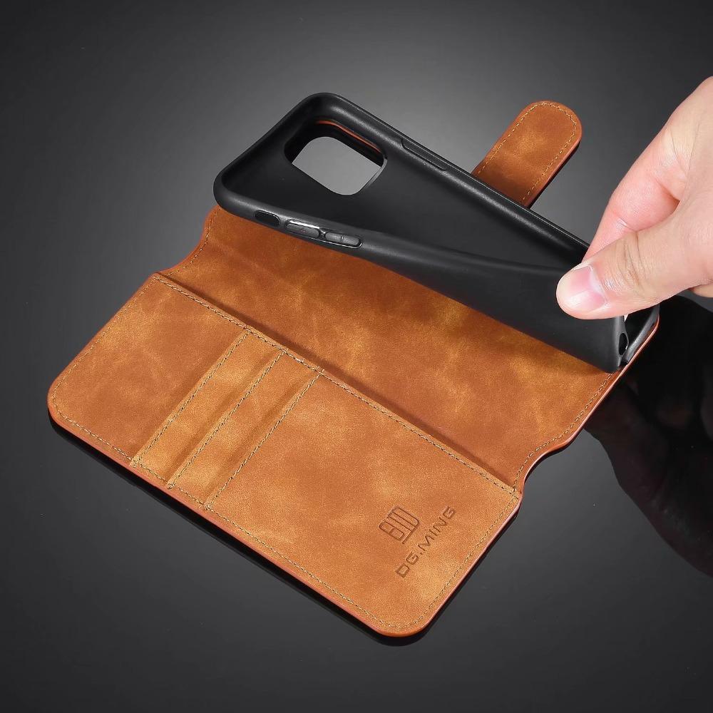 Premium Leather Flip Wallet Case for iPhone 11/11 Pro/11 Pro Max 39