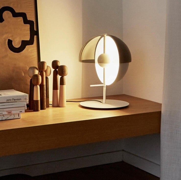 modern table lamp villa simple designer light luxury model room atmospheric bedroom bedside household ball floor lamp|Table Lamps| |  - title=