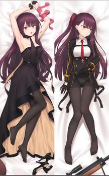 Original ak-12 girls frontline anime characters sexy girl wa2000 & kar98k body pillow cover springfield Dakimakura