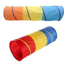 Drei Farben Spielzeug Baby Cawling Tunnel Kids Rohr Spielzeug Outdoor Und Indoor Baby Spielen Kriechende Spiele Zelt Zugang Spiel