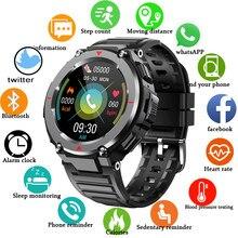 LIGE2021 New Outdoor sport Smart Watch Men Bluetooth music Call Watch For Men Clock Waterproof Bluetooth Hour Heart rate monitor