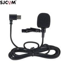 الأصلي SJCAM SJ8 A10 اكسسوارات Tepy C ميكروفون خارجي ل SJ8 برو/زائد/الهواء SJ9 سترايك/ماكس عمل كاميرا الملحقات