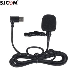 Image 1 - מקורי SJCAM SJ8 A10 אביזרי Tepy C חיצוני מיקרופון עבור SJ8 פרו/בתוספת/אוויר SJ9 שביתה/מקס פעולה מצלמה אבזרים