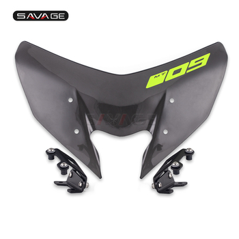 Windscreen For YAMAHA MT-09/SP FZ-09 2017-2020 18 19 Windshield Pare-brise Motorcycle Wind Deflectors MT-09SP MT09 FZ09 MT FZ 09 optifit belleza mt 27
