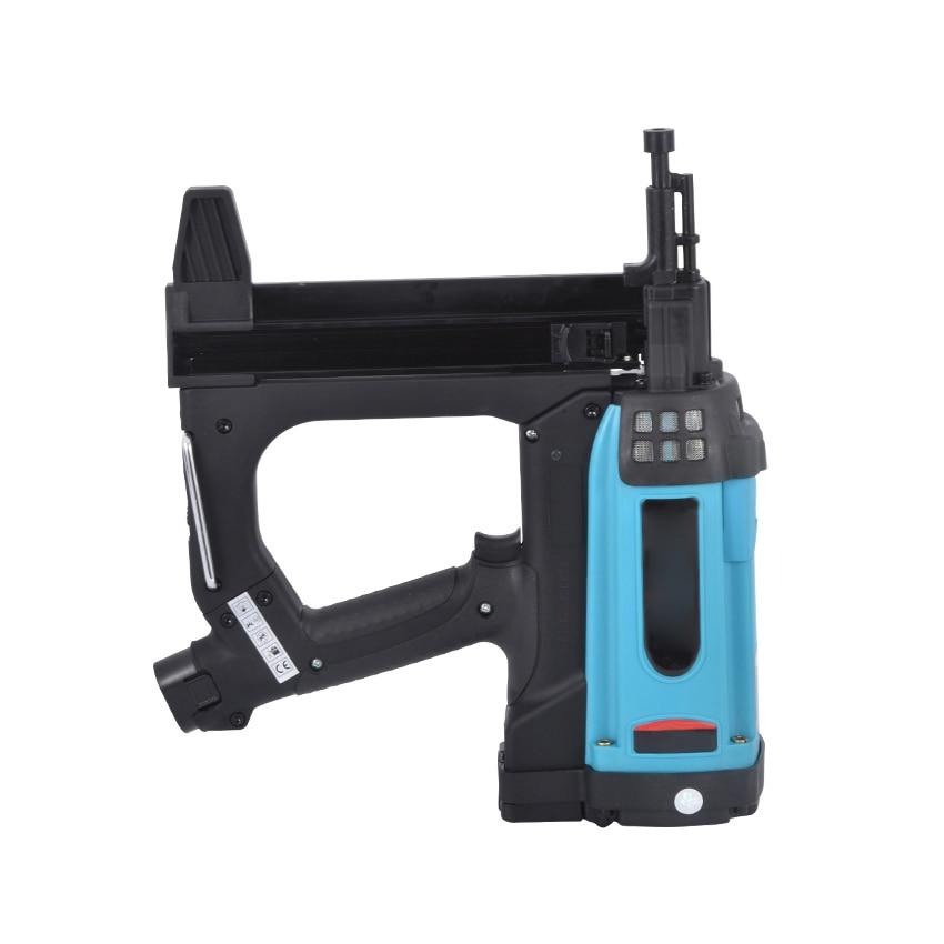 GSR40 Pneumatic Nail Gun Lithium Battery Gas Nail Gun Steel Air Stapler Pneumatic Tools For Frame And Trunking 110 220V|Nail Guns| - AliExpress