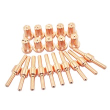 10Set Extended Air Plasma Nozzles Electrode Cutter Cutting Fit for PT31 Torch