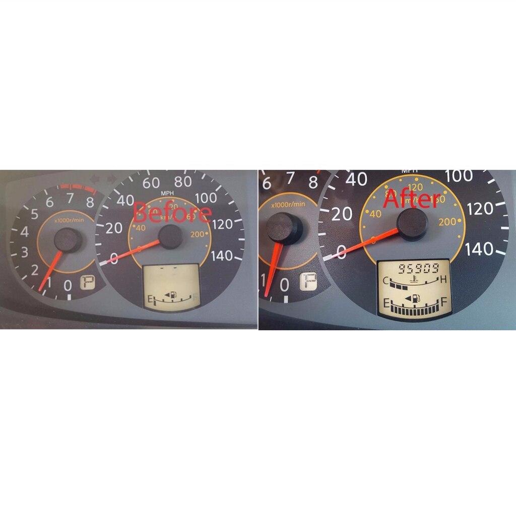 Carro traço velocímetro display lcd peças de reparo para nissan quest 2004-2006