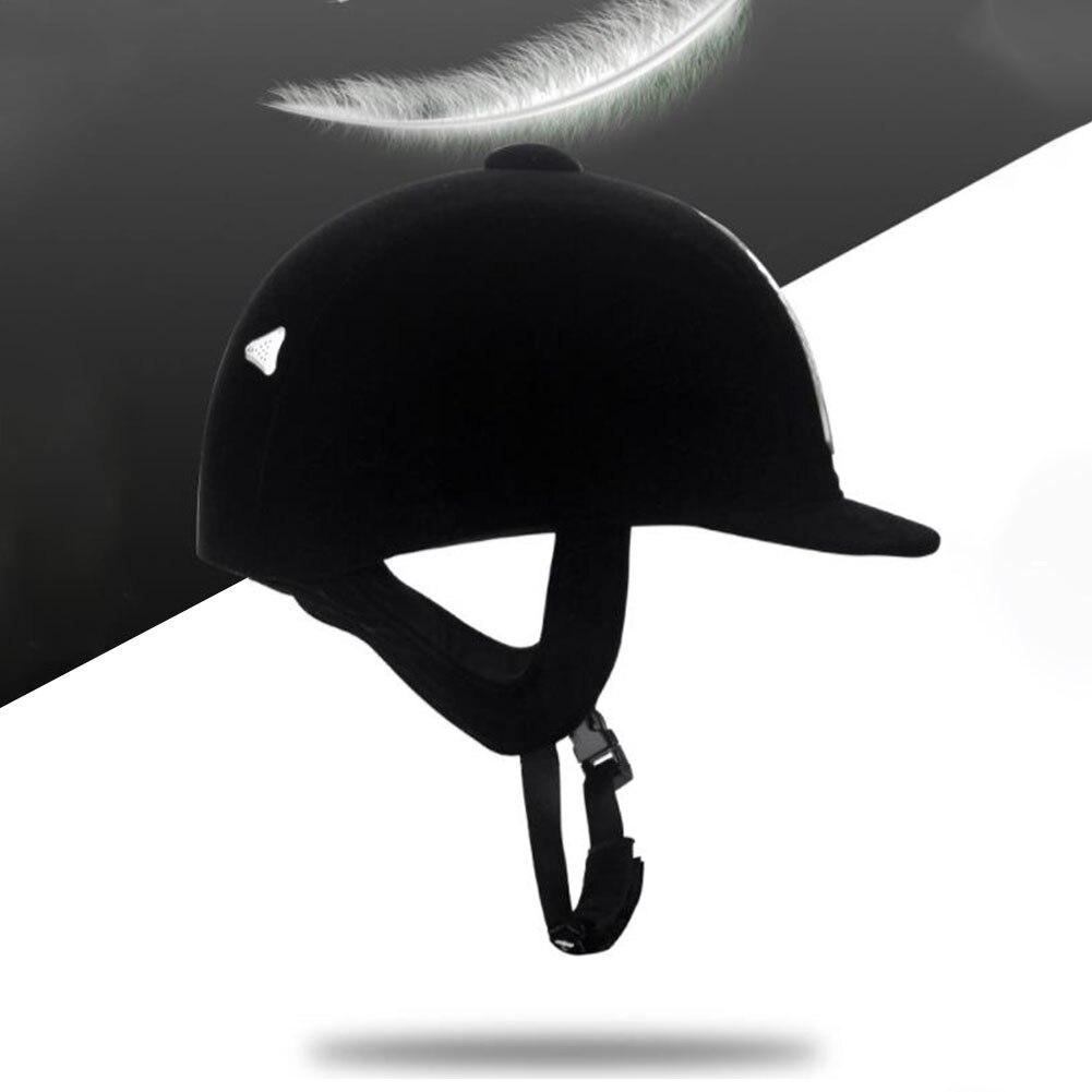 Women Men Equipment Guard Anti Impact Ultralight Half Cover Equestrian Helmet Professional Horse Riding Breathable Protective