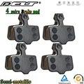 Колодки велосипедные полуметаллические дисковые для SRAM AVID Elixir E1 /3/5/7/9 ER / CR Mag xo xx, 4 пары