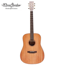 Professional Acoustic guitar Mahogany top Solid Wood 40 41 inch musical Stringed instruments steel string guitarra Hot china OEM цены онлайн