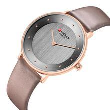 CURREN Women Watch Classic Casual Waterproof Luxury Watches Leather Strap Quartz Wrist Romantic Gift Ladies