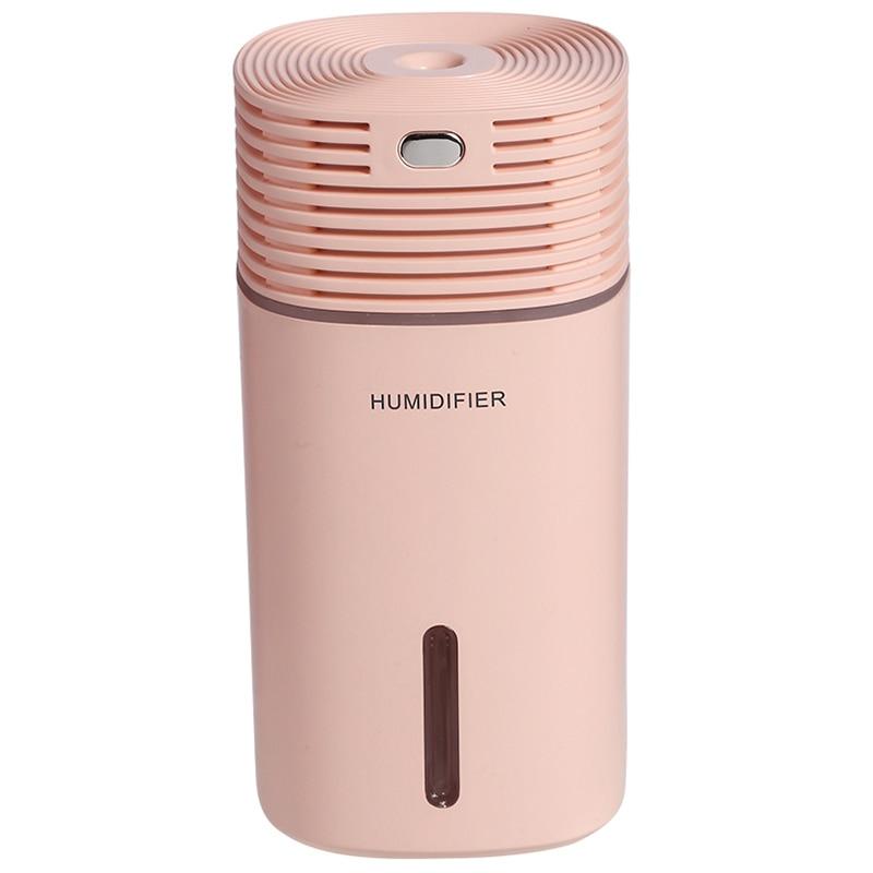 Air Humidifier Clean Air Care Air Purifier Freshener Mute Design 7 Color Lights For Home Auto Mini Car Humidifiers