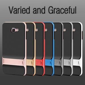 Image 3 - 3D Kickstand โทรศัพท์กลับสำหรับ Samsung J7 Prime Case TPU + PC ซิลิโคน Hybrid Carcasas SamsungJ7Prime J7Prime Nxt prime2