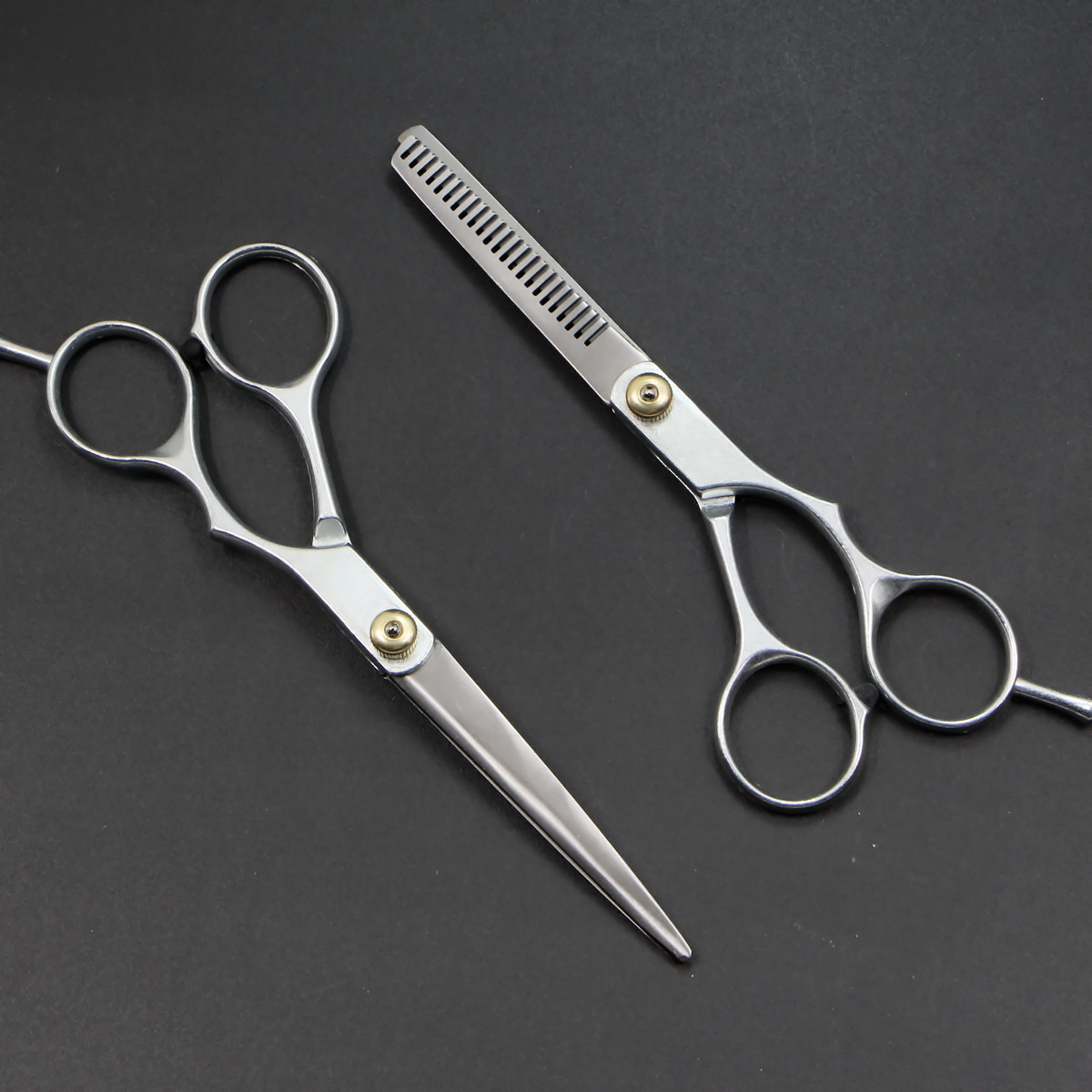 Split Type Shear Manufacturers Wholesale Customizable Hairdressing Scissors Straight Snips Thinning Scissors Bang Scissors