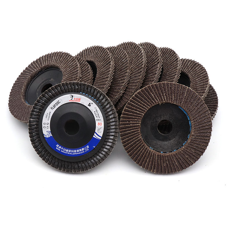 1pcs Flap Discs 100mm 4 Inch Sanding Discs 60/80/120/240/320Grit Grinding Wheels Blades For Angle Grinder 72 Tablets