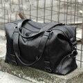 Модная мужская дорожная сумка, чемодан большой вместимости, кожаная портативная деловая сумка через плечо, повседневная мужская сумка на п...