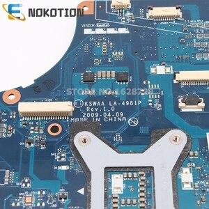 Image 3 - NOKOTION K000083120 K000083110 KSWAA LA 4981P pour Toshiba Satellite L500 L505 carte mère dordinateur portable HD GMA DDR2 seulement cpu gratuit