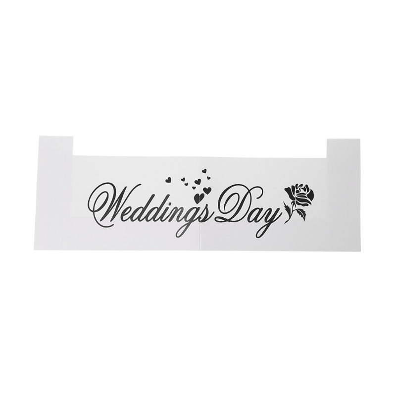 Wedding Favors DIY Anniversary Photo Frame Props Photo Booth Party Decoration X4YD - 6