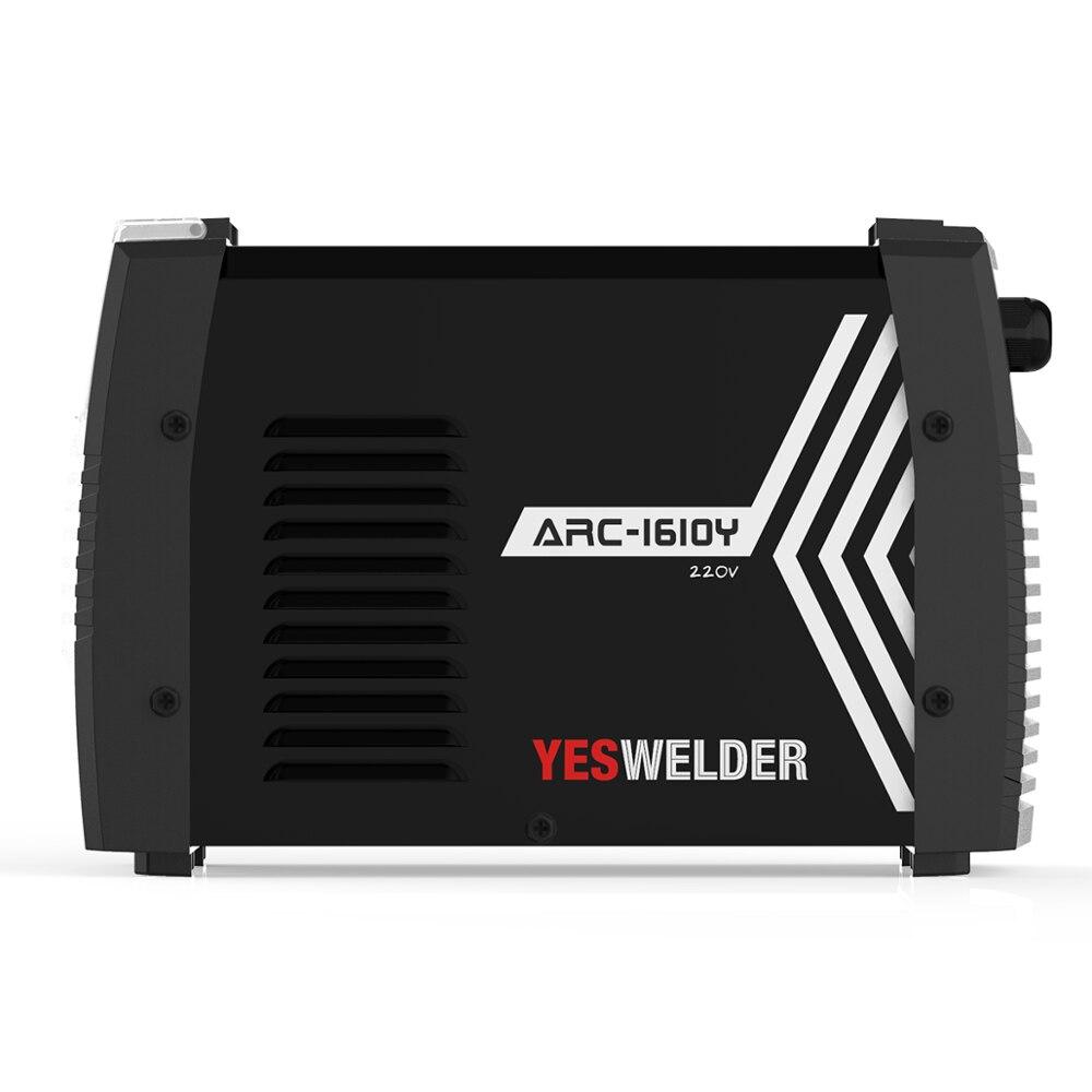 YESWELDER Tragbare ARC Schweißen Maschine Einphasig 220V 160Amp Stick Schweißer Digitale IGBT Inverter MMA Schweiß Maschine Euro Stecker
