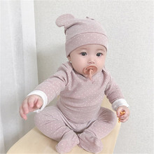 Baby Nightwear Newborn Baby Pajamas Baby Clothing Set Infant Baby Sleepwear Clothes Baby Sleepers Baby Girl Clothes Boy Outfits cheap CHILDLAND POEM Cashmere COTTON Fashion O-Neck Sets Covered Button Full REGULAR Fits true to size take your normal size