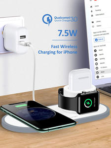 Watch Station-Qi Airpods Fast-Charging-Dock Apple Phone-Compatible Wireless-Charger iPhone 11