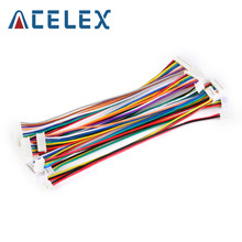 10Pcs XH 1.25 28AWG JST Double Electronic Wire Connectors 2/3/4/5/6/7/8/9/10Pin Cable Connector 10cm DIY Line Reverse Direction