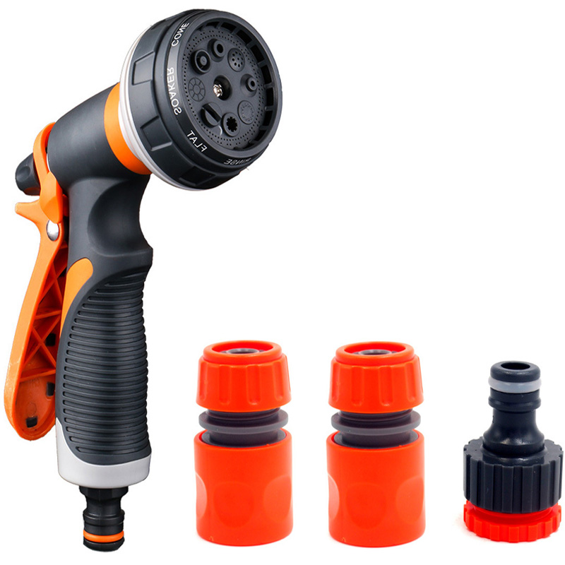 Garden Washing Cleaner Pressure Car And Hose Nozzle Washer Water With Quick Connect Adapters Faucet Connect Type 2|Garden Water Guns| |  - title=