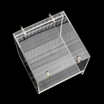 Deluxe Bird Bath Cage Adjustable Hanging Upgraded Large with Clear View Supplies