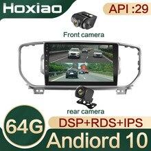 4G + 64G Android 10,0 DSP autoradio lecteur multimédia navigateur GPS gießen KIA Sportage 4 KX5 2016 2017 2018 Audio 2Din IPS RDS