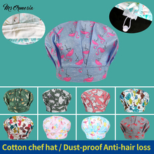 Work-Hat Catering-Cap Hotel Chef Kitchen Restaurant with Sweat-Towel Animal-Printing