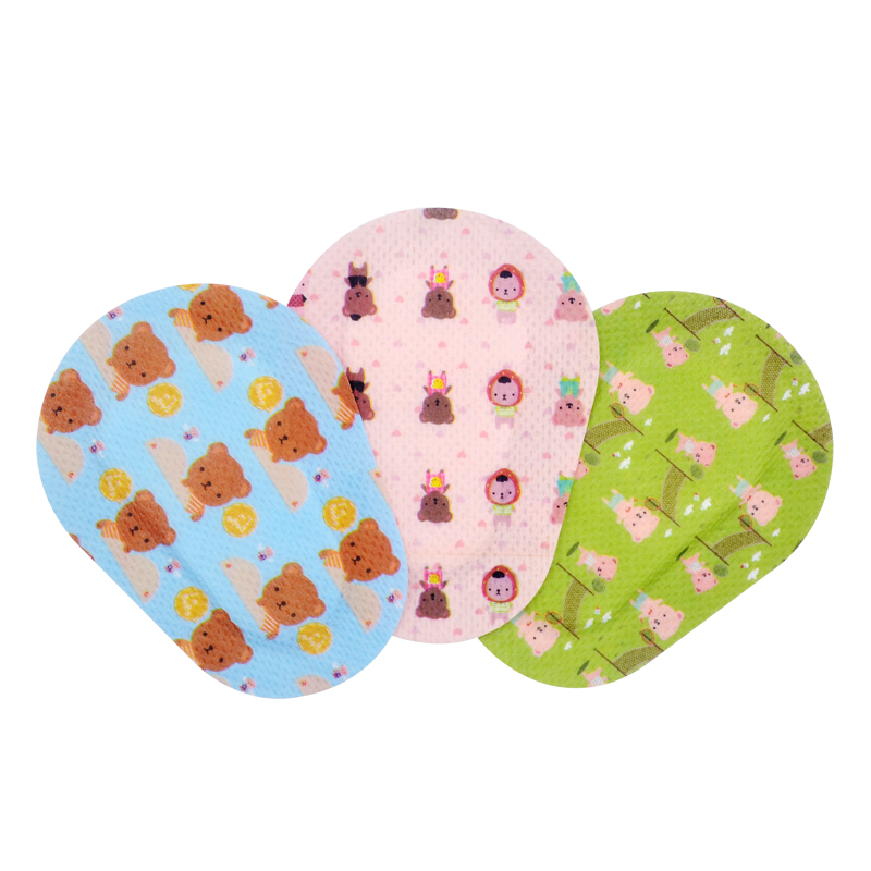 Cute Adhesive Eye Patches Bandage For Kids Girls Boys With 3 Different Designs For Amblyopia, Lazy Eye(60 Count)