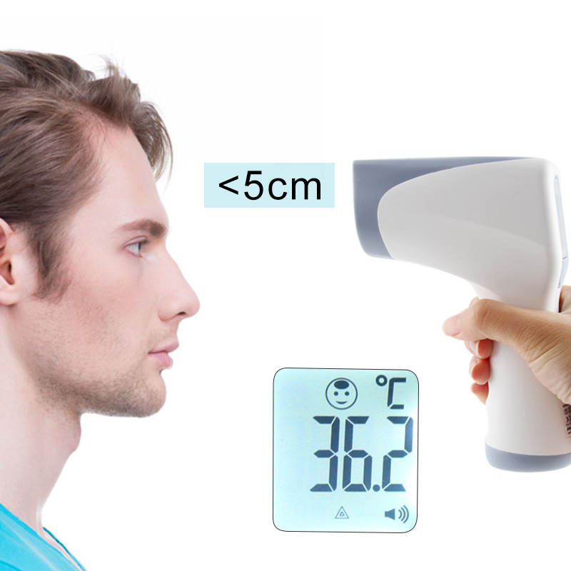NONE Baby Thermometer Infrared Digital LCD Body Measurement Forehead Ear Non-Contact Adult Body Fever IR Children
